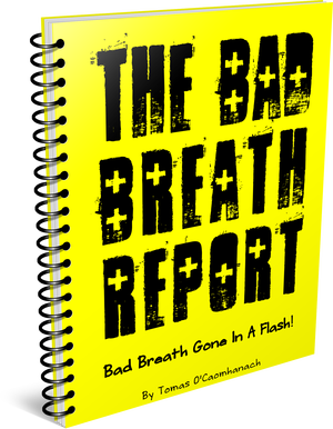 The Bad Breath Report Banner